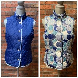 Reversible Quilted Coach Vest